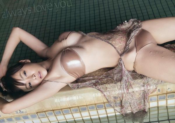 【杉原杏璃】ぷるぷるな巨乳おっぱい