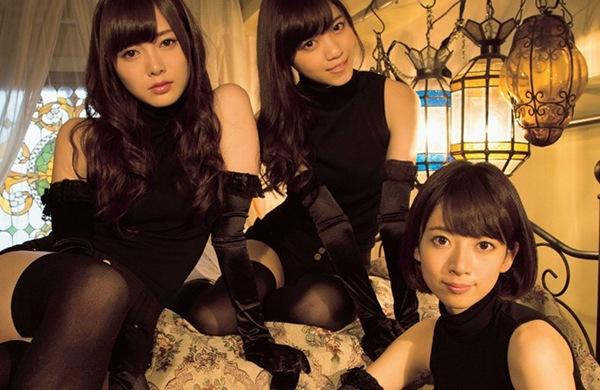 【乃木坂46(橋本奈々美?白石麻衣?西野七瀬)美人3姉妹は美し杉