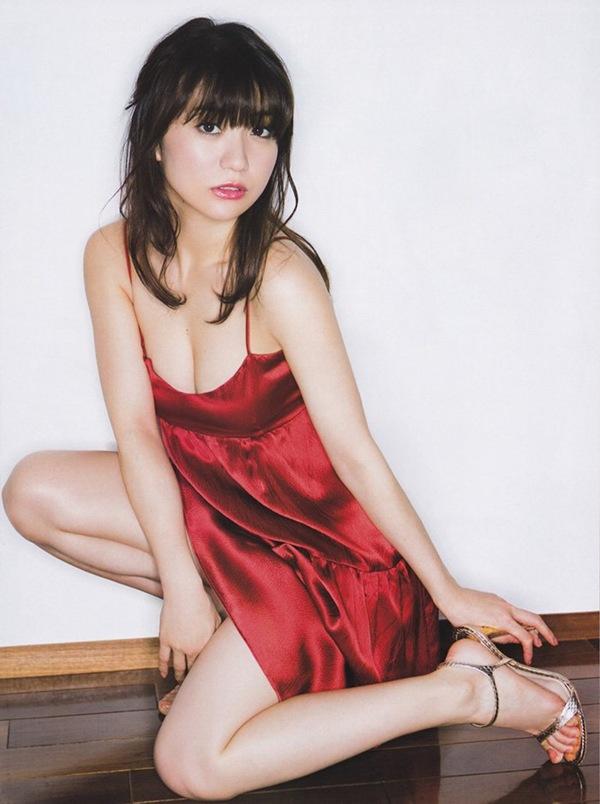 【大島優子】優子ちゃんのハミ乳