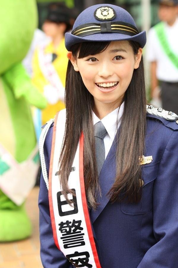 【福原遥】美少女が警官コスプレしたった