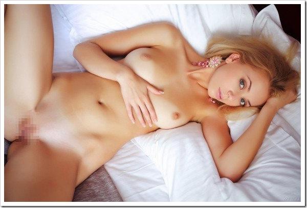 【金髪外国美人】美乳おっぱいセクシー全裸
