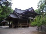 天神社を通過