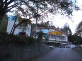 西沢渓谷入口に到着