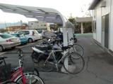 健康ランドの駐輪場