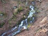 水神の滝を通過