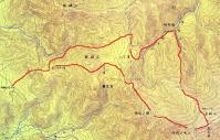 金峰山・登山ルート