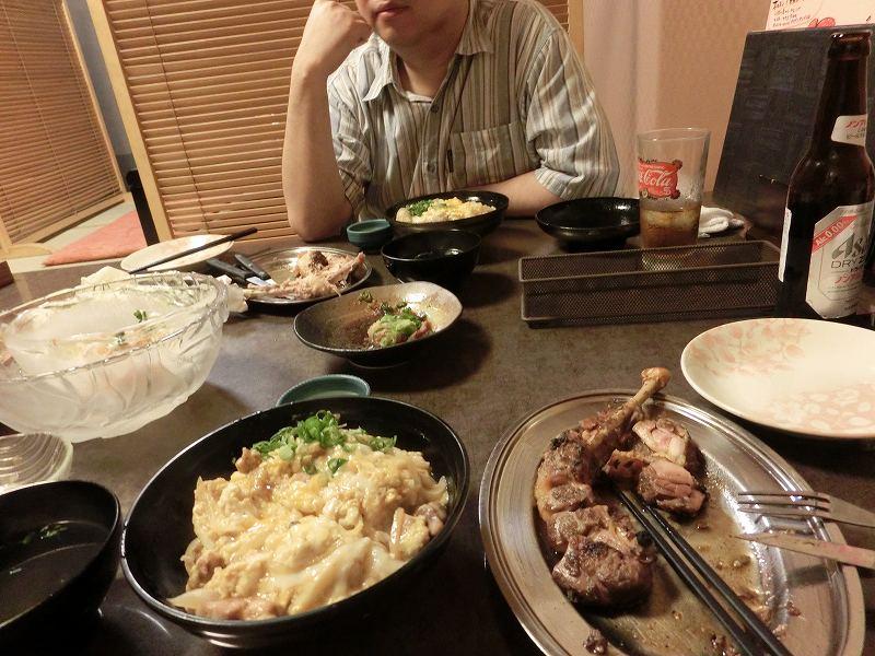 s-骨付き鳥と親子丼 - コピー