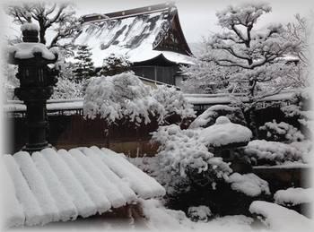八ツ三館雪景色