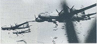 B29爆撃機