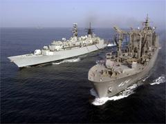 インド洋での給油活動