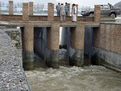 アフガン灌漑用水路