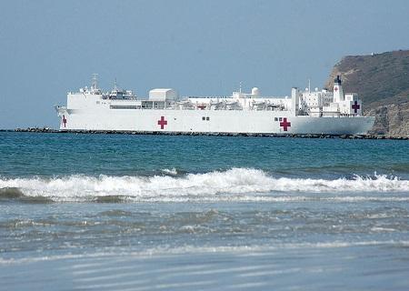 離島と病院船