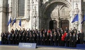 リスボン条約の調印07年12月