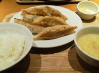 大餃子定食
