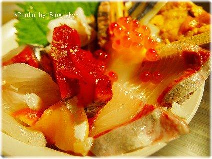 普通の海鮮丼2
