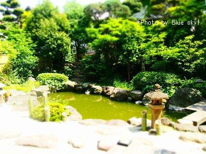 庭園-ジオラマ