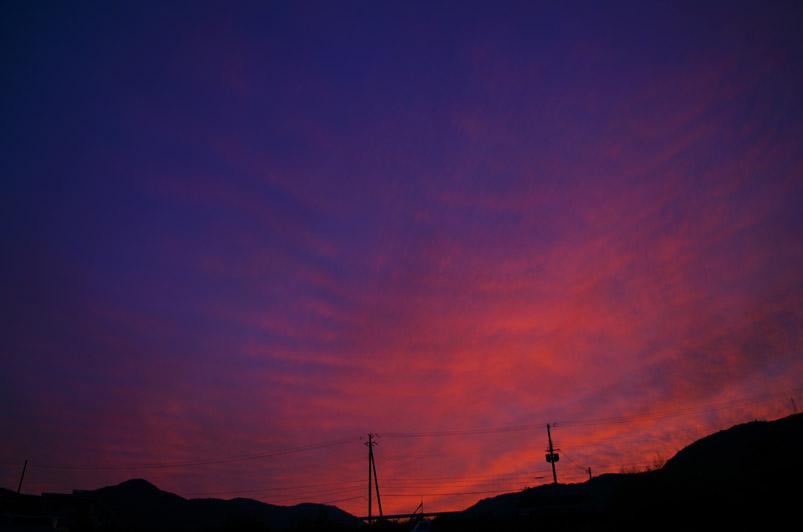 田野井夕景4min
