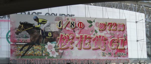 阪神競馬場2012桜花賞3