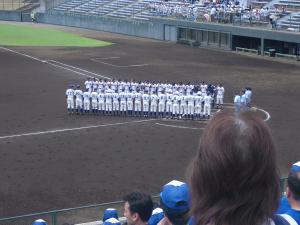 上高野球①