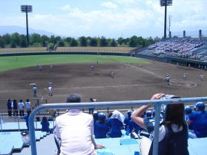 上高野球②
