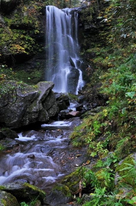 5HKD_美深町の深緑の滝