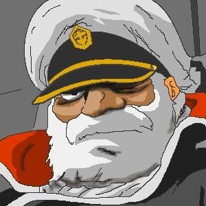 オキタ艦長