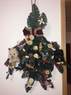 完成クリスマスリース