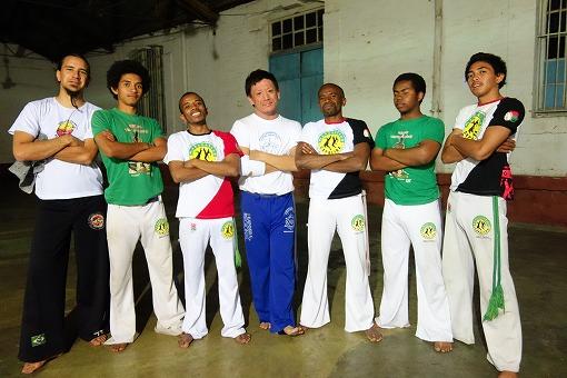 Madagascar capoeira 主力メンバーと