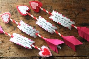 バレンタインアローカード