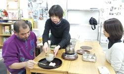 2013年2月 茶道男子(衣川さん)
