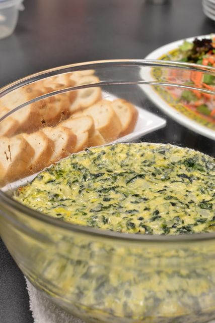 EsnicCooking_Hot Spinach Dip