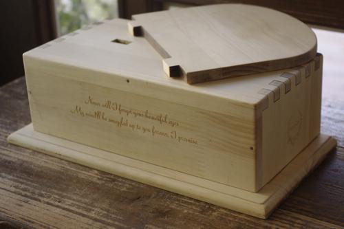 ペット用メモリアルボックス