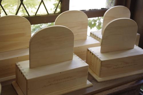 ペット用木製メモリアルボックス