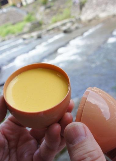 黄色いプリン