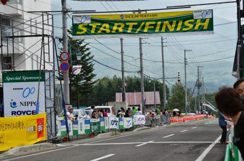 ツールド北海道2013 第1ステージ♪8