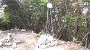 釈迦が岳山頂20130922