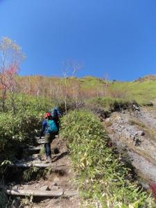 焼岳1 20131014