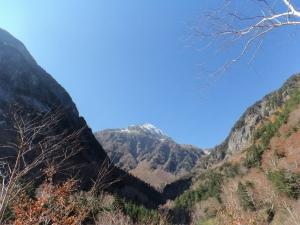 本谷あたりからの北穂20131031