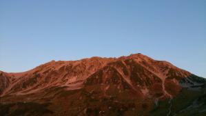 立山20130921夕焼け