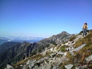 2009.9の笠ヶ岳