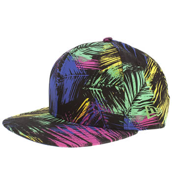 New Era Cyber Leaf 9FIFTY Snapback Baseball Cap (Multi)