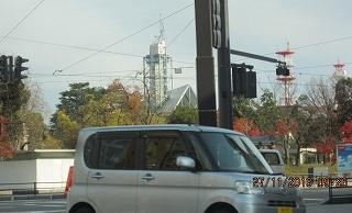 市役所のタワー