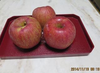 O住さんのりんご