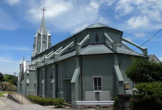 平戸教会聖堂奥