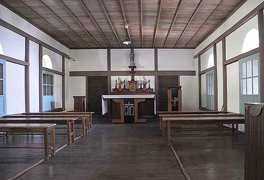 大野教会堂内