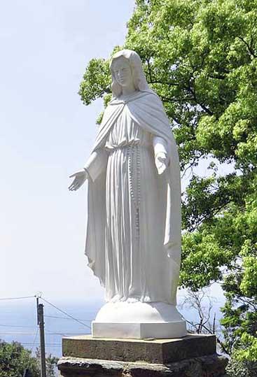 大野教会マリア像
