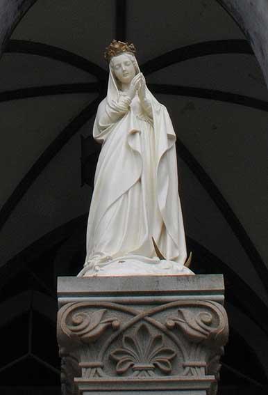 大浦天主堂マリア像