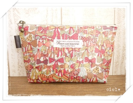 Jennys Ribbonsポーチ20130916②