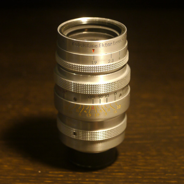 Kodak Cine Ektar 50mm f1.9