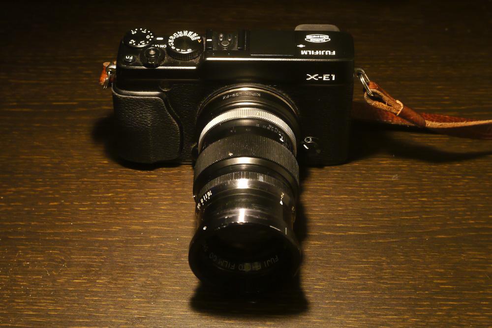 X-E1 + Fuji Cine Fujinon 7.5cm f2